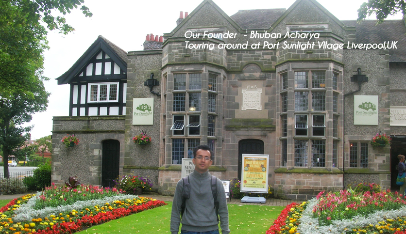 Port Sunlight Vllage Liverpool,UK
