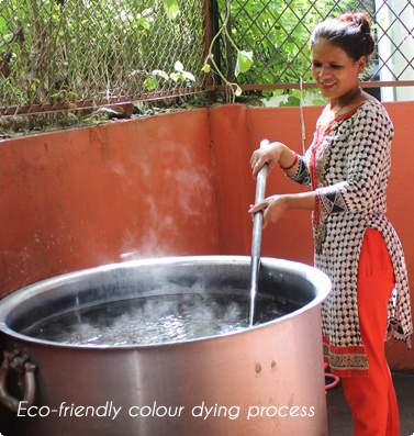 Eco Friendly Colour Dying Process