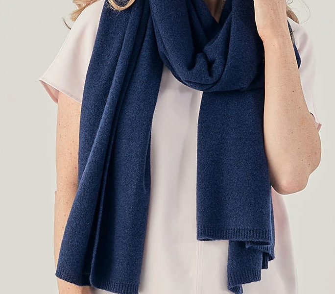 Cashmere Wrap in high thickness