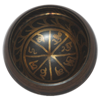 Tibetan Buddhist Symbol Singing Bowl