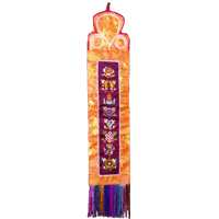 Tibetan buddhism art wall hanging