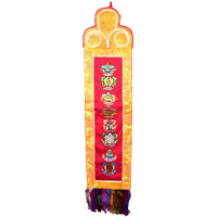 Buddhism symbols wall hanging
