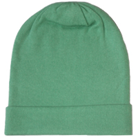 Ocean green colour cashmere pashmina hat