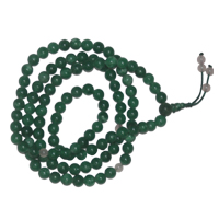 Green Jade long Mala