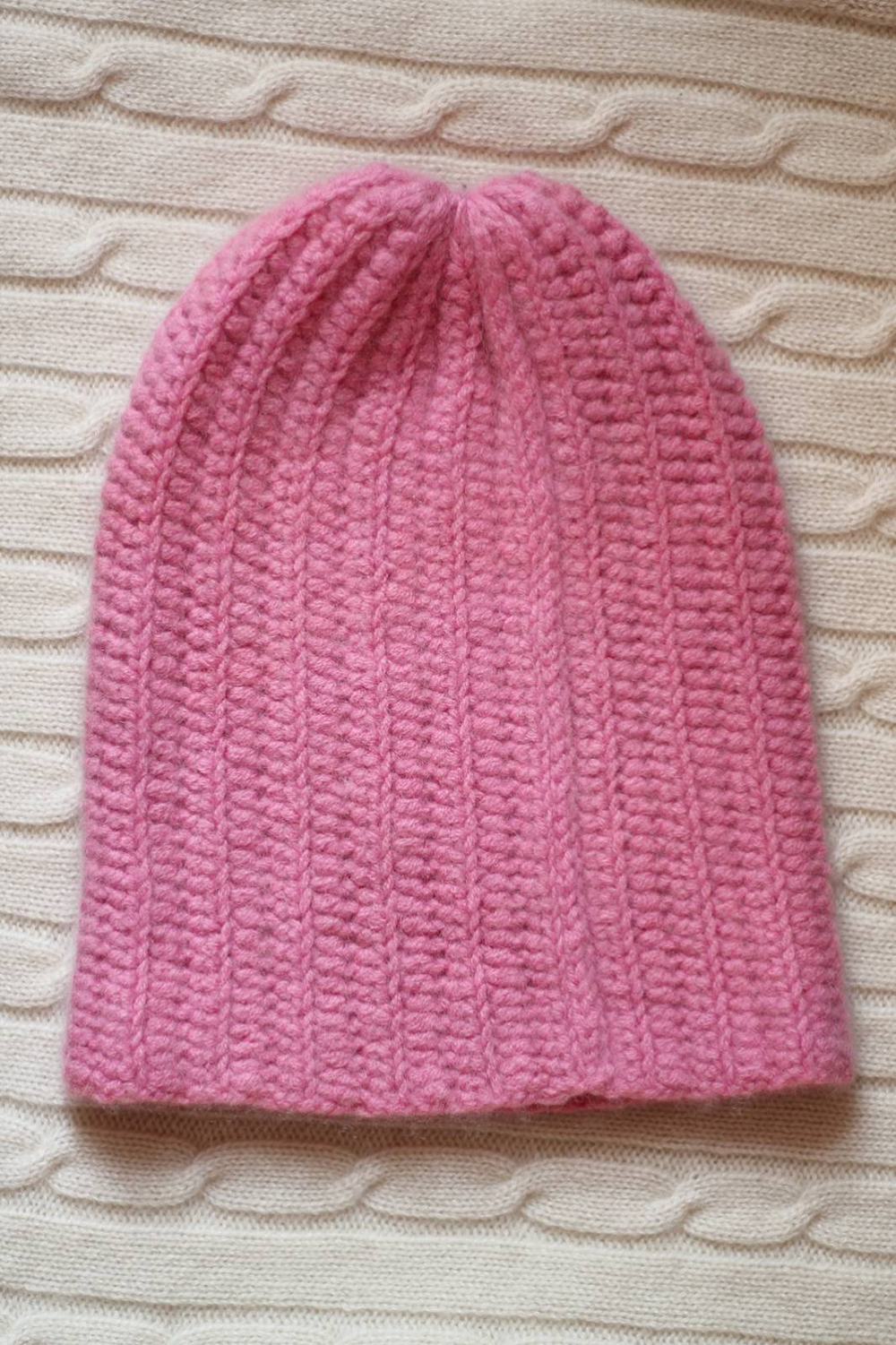 Pink Beanie Hat for Womens