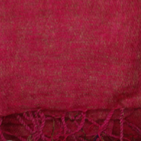 Red Colour yak wool blanket