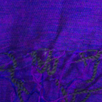 Purple Colour yak wool blanket
