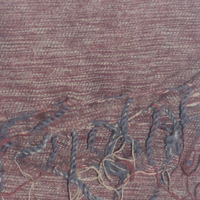marron colour yak wool shawl