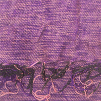 Purple Colour yak wool shawl